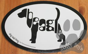 Euro Style Beagle Breed Magnet http://doggystylegifts.com/collections/euro-style-breed-magnets/products/euro-style-beagle-breed-magnet