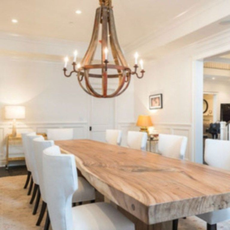 12 Rustic Dining Room Ideas: Astonishing Extra Large Rectangular Dining Tables Ideas 08