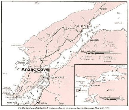 Anzac Cove Map map of anzac cove   Google Search | Anzac day | Anzac day, Anzac