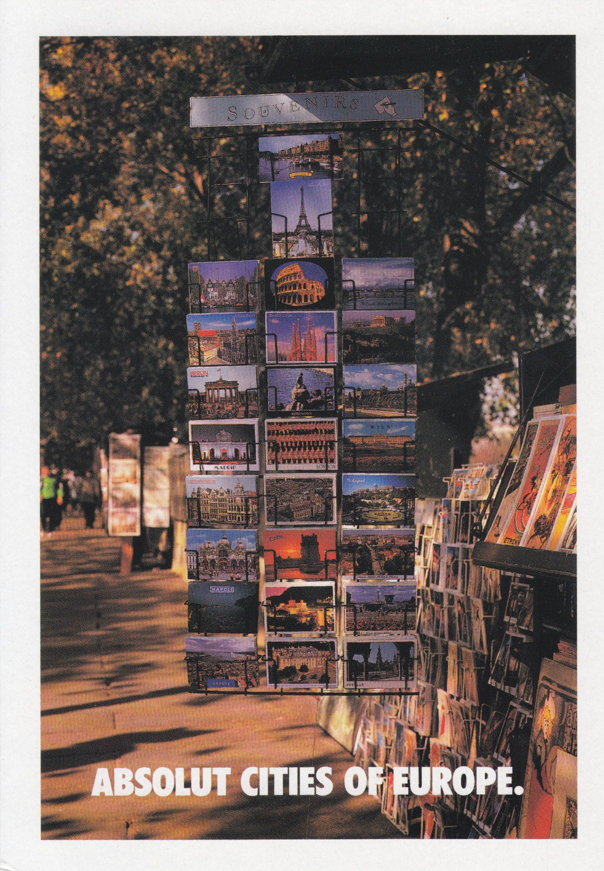 Absolut Cities of Europe - # 249 - Promocard - Italy - # 4.378