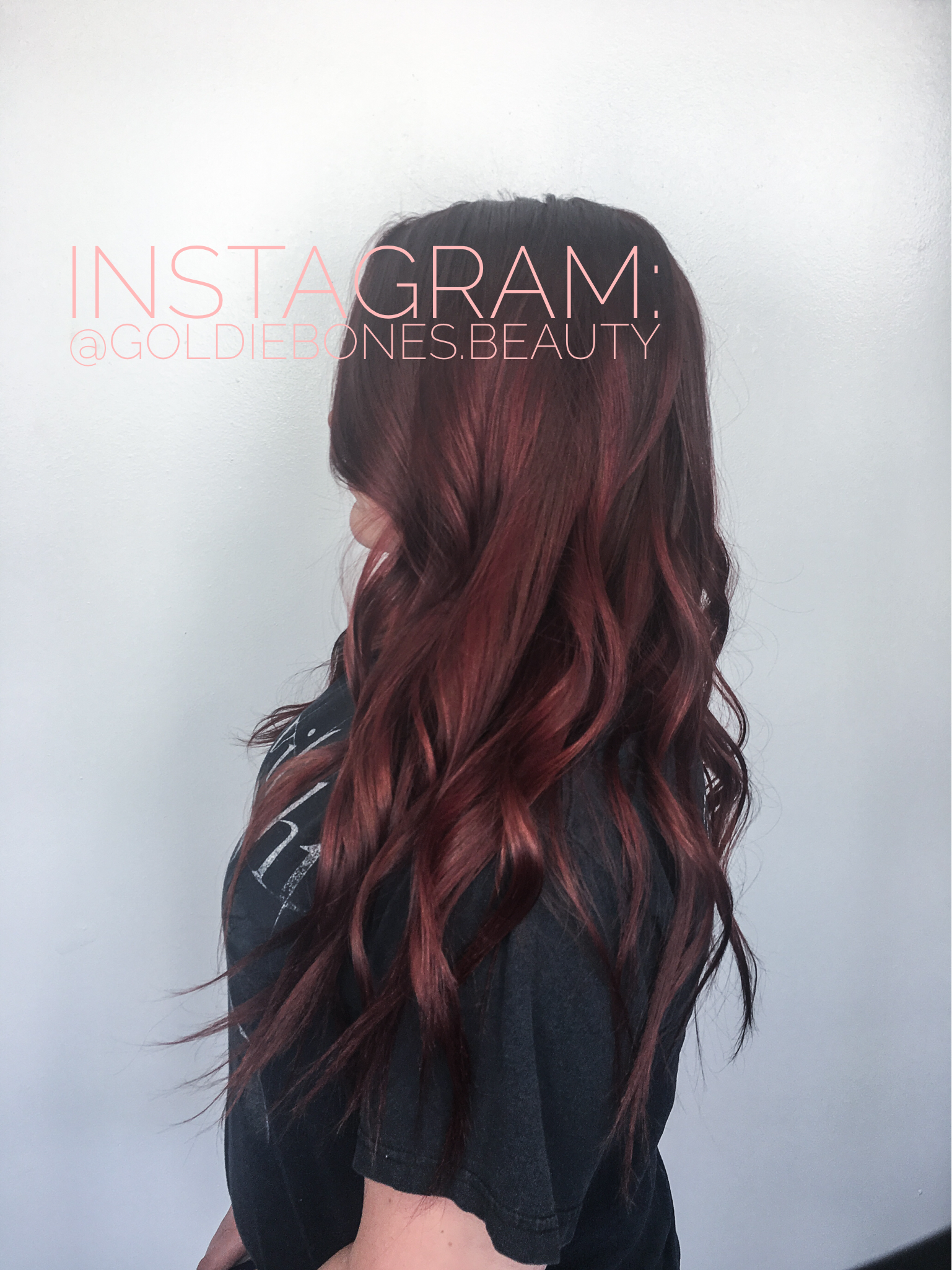 Firecracker Red For Fall We Used Redken Shades Eq 7c On Her