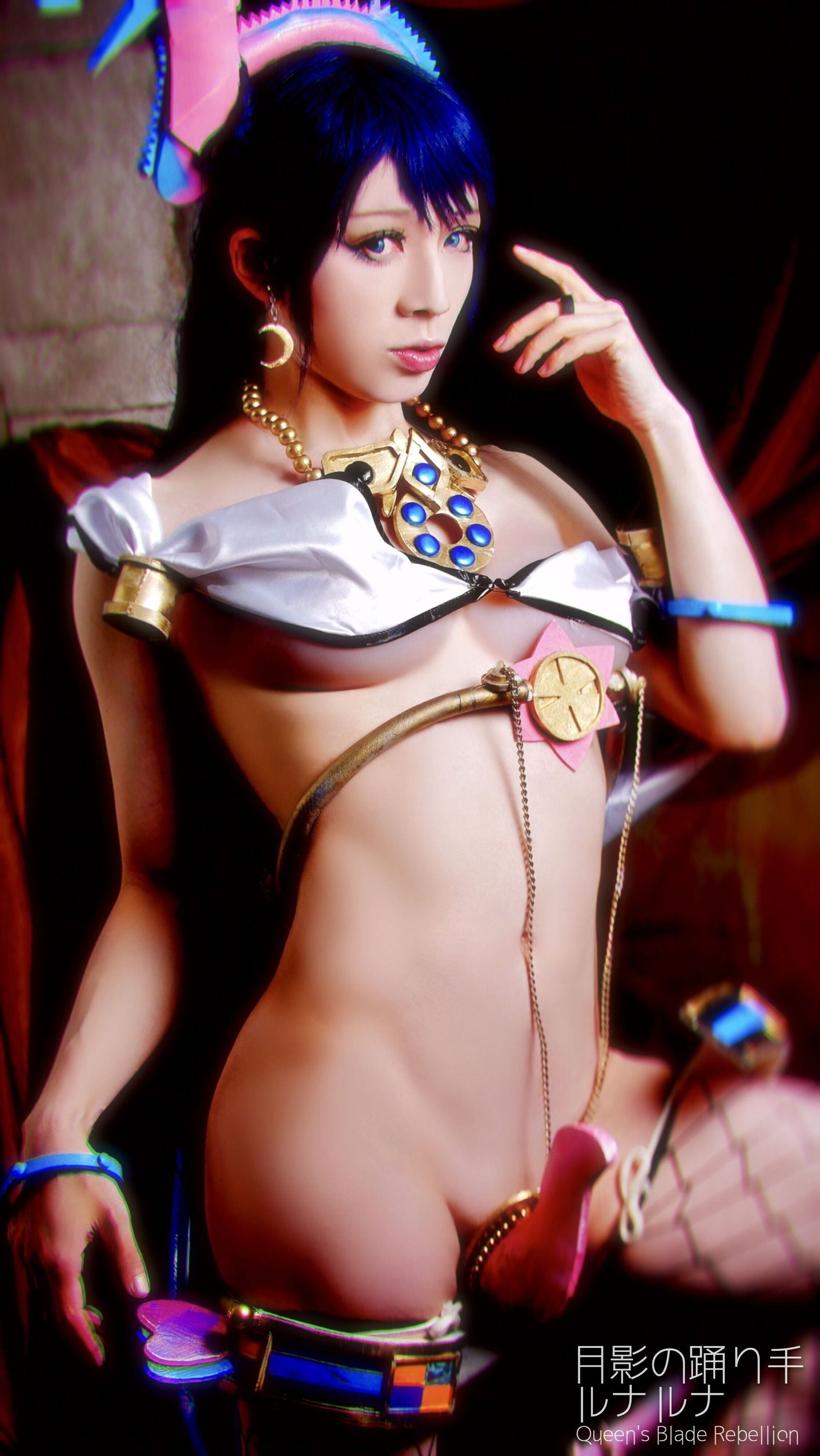 co lunaluna of queen sblade rebellion queens blade cosplay