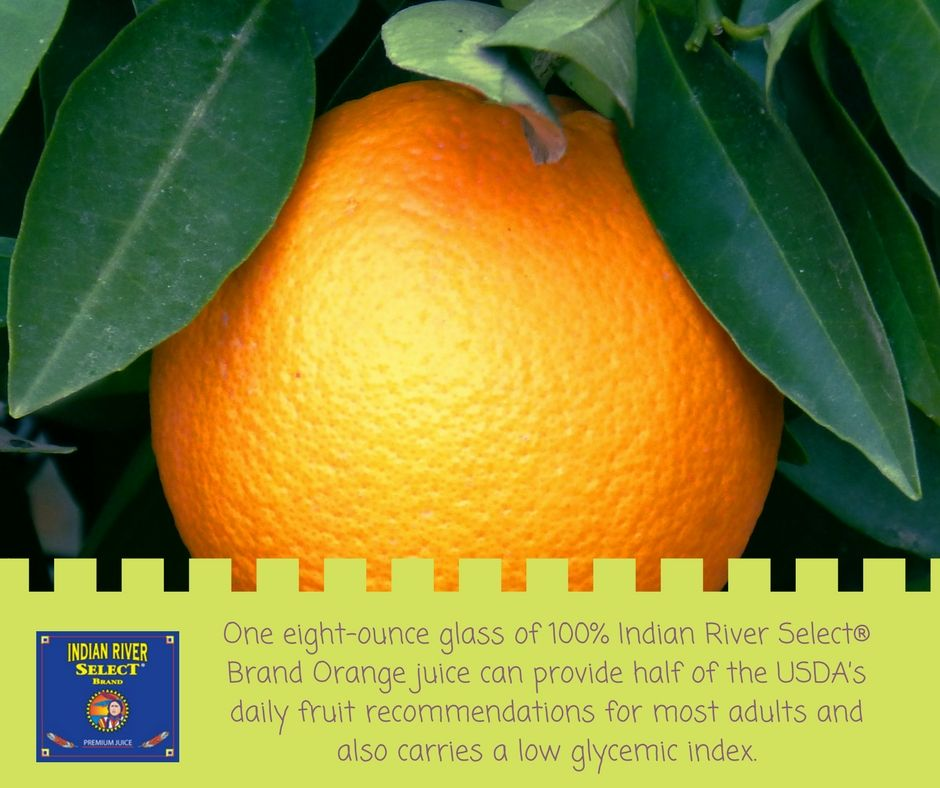Our Indian River Select® Brand Orange juice is a family