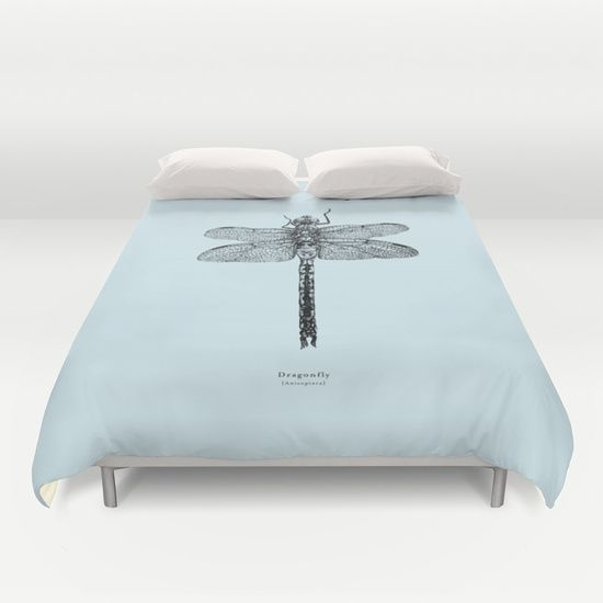 Dragonfly [Anisoptera] Duvet Cover by Katie Benge | Society6