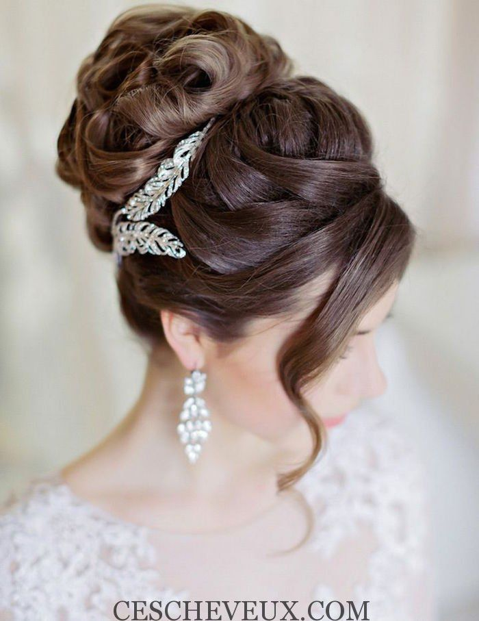 Coiffure femme mariage 2017