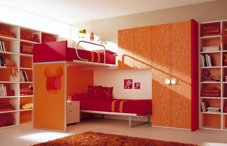 Habitaciones infantiles dobles decoraci n dormitorios infantiles en 2019 pinterest - Dormitorios infantiles dobles ...