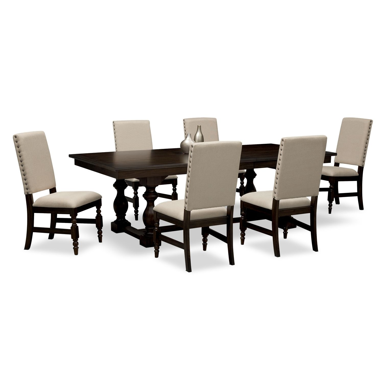 Best American Signature Furniture Ashton Dining Room 7 Pc 400 x 300