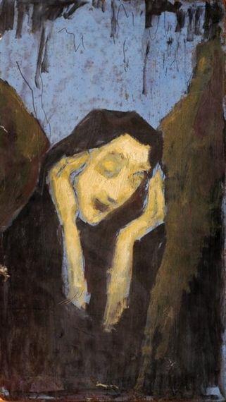 Jakob Steinhardt - Rachel Weeping for her Children...