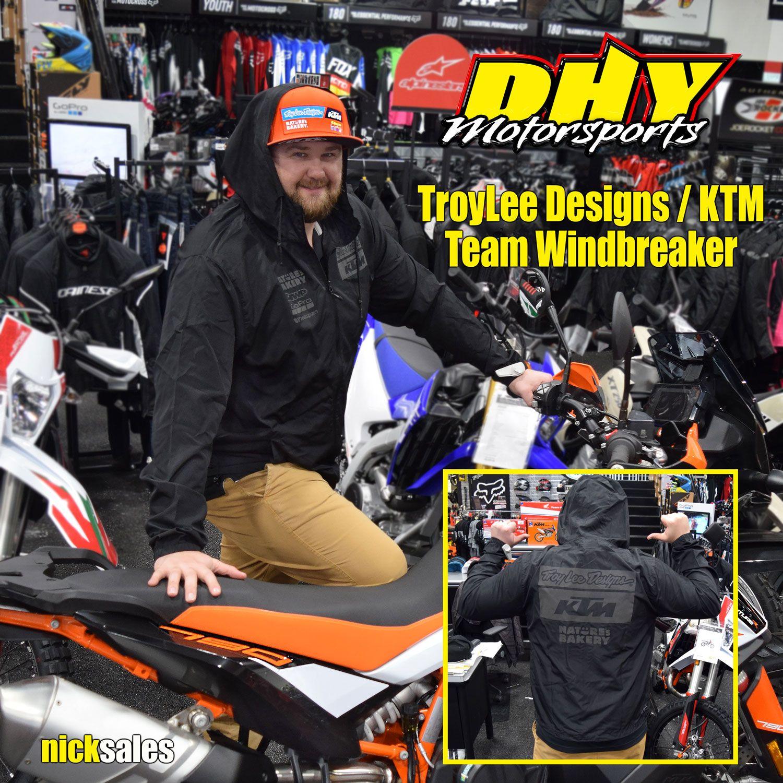 ThisJustIn TroyLeeDesigns / KTM team windbreakers have