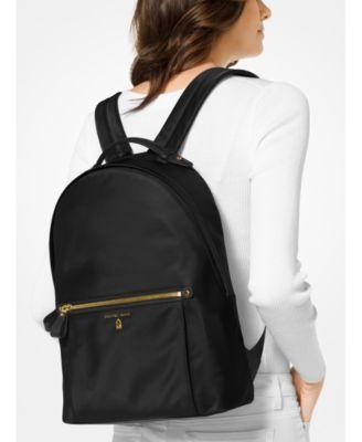 83c6e17131a95 Michael Michael Kors Kelsey Large Backpack - Black Silver