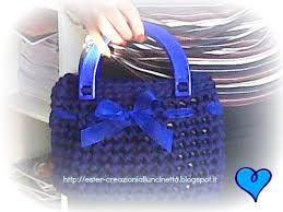 Bauletto blu