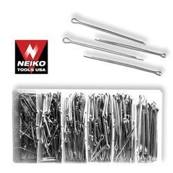 Neiko 555 Piece Cotter Pin Assortment Set Sae By Br Tools 9 45 Contains 150 Of 1 16 X 1 Inch 150 Of 3 32 X 1 Inch 100 Of 3 3 Home Hardware Hardware Home