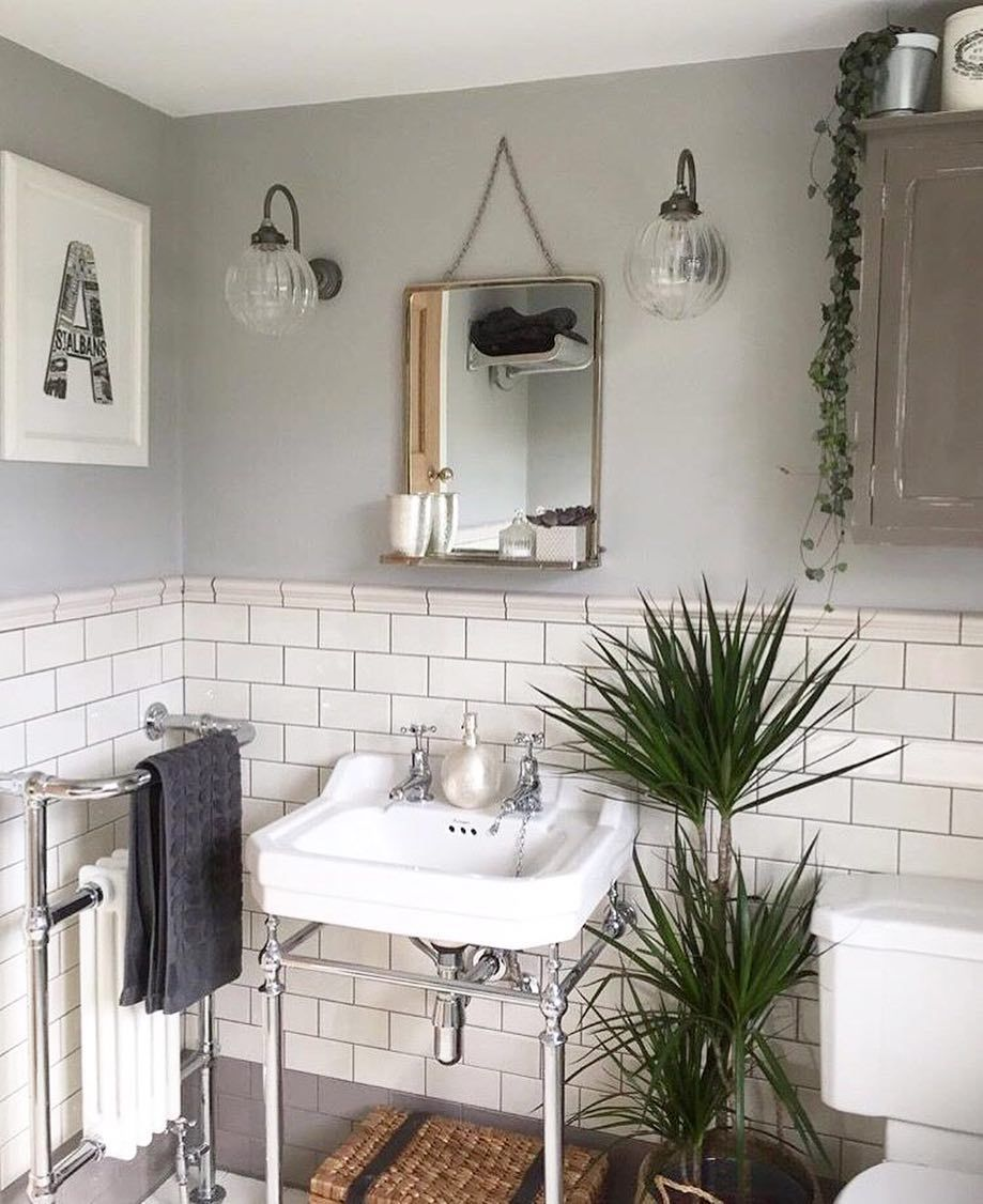 This Bathroom Has It All The Mixture Of Victorian Plumbing Contemporary Styling And Industrial Small Bathroom Renovations Cottage Bathroom Bathroom Interior
