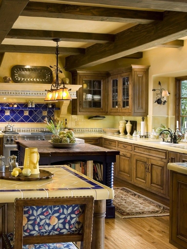 25 Mediterranean Kitchen Design Ideas Mediterranean Kitchen