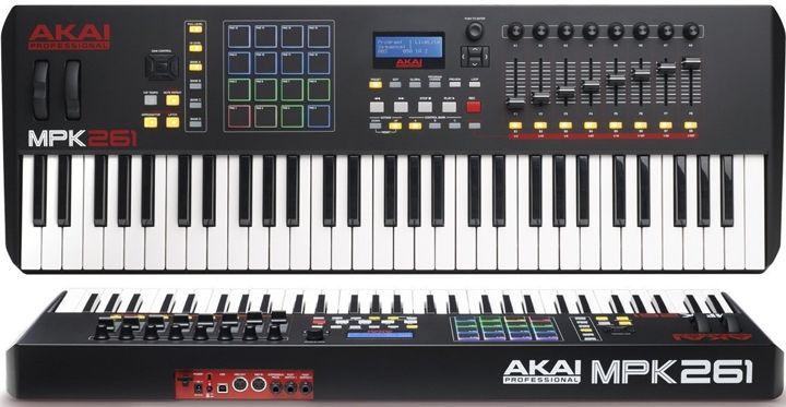 Akai Professional MPK261 61-Key MIDI Keyboard Controller   bag