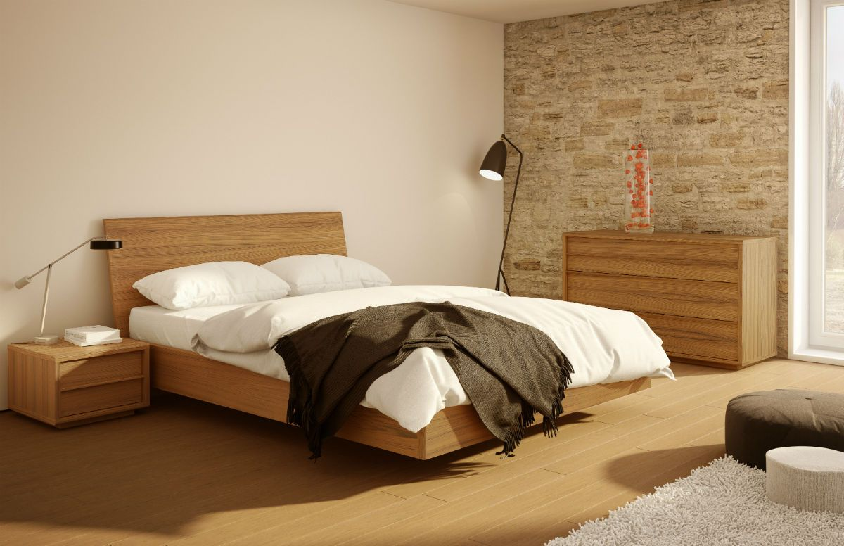 Contemporary wood bedroom Urbana collection by Mobican ...