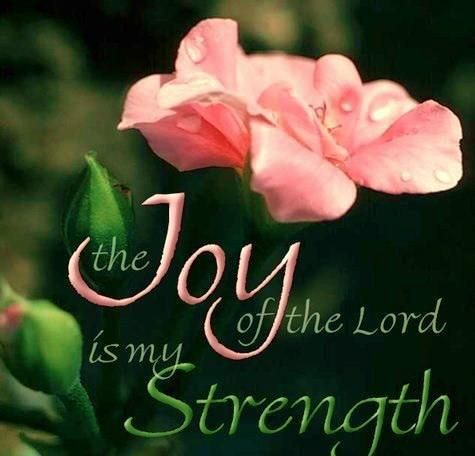 Image result for the joy of the lord is your strength kjv