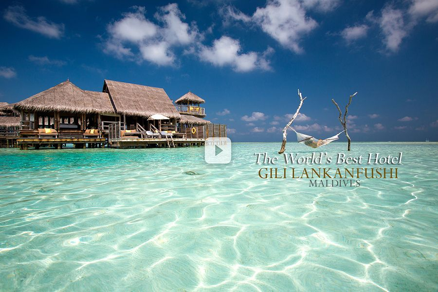 Video of The Best Hotel in The World Gili Lankanfushi Maldives. The Water Villas and the World's largest Water Villa