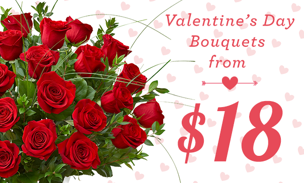 valentines day - order your # flowers early, with same day, Ideas