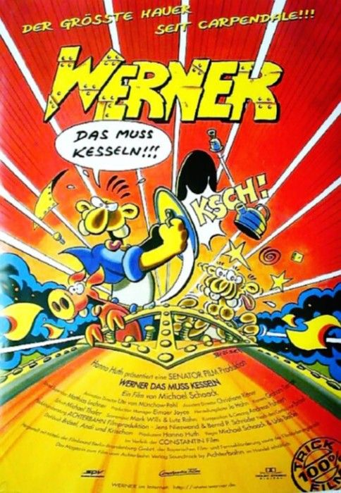 Filmplakat Werner Das Muss Kesseln 1996 Werner Das Muss Kesseln Ganze Filme Filme