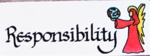 Angel Card - Responsibility