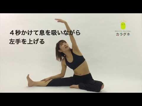 女性ホルモンのバランスが整う運動 ジョホレッチ やり方動画 カラダネ 女性ホルモン 下半身ダイエット 家でできるトレーニング