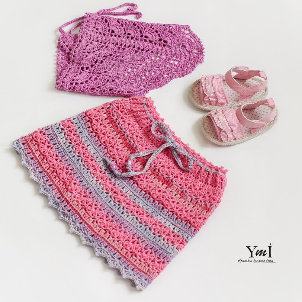 юбка крючком вязаная юбка схема вязания как связать юбку узор