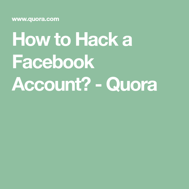 How To Hack A Facebook Account Quora Accounting Hacks Incoming Call Screenshot