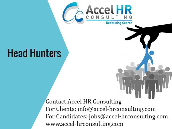 Accel-HR offers best job opportunity to job seekers who want to higher level placement or senior position. Industries top Recruitment Company which provides services of Recruitment, Professional Resume Writing, CV Writing and Executive Search Firm, Head Hunters in Dubai & India.  http://www.accel-hrconsulting.com/aboutus.asp