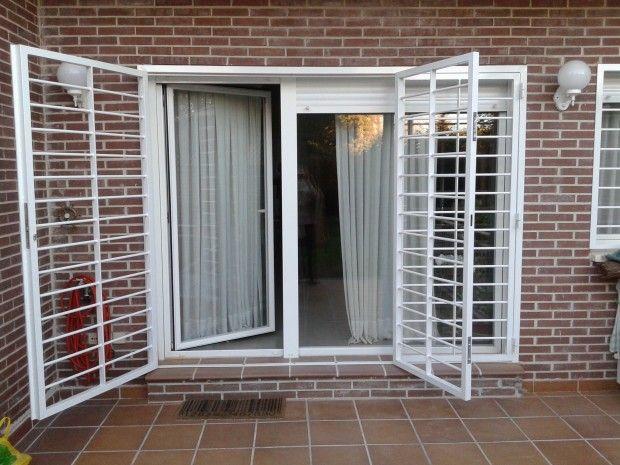 En Tablas tambien ponemos rejas a tus ventanas Puerta ventana