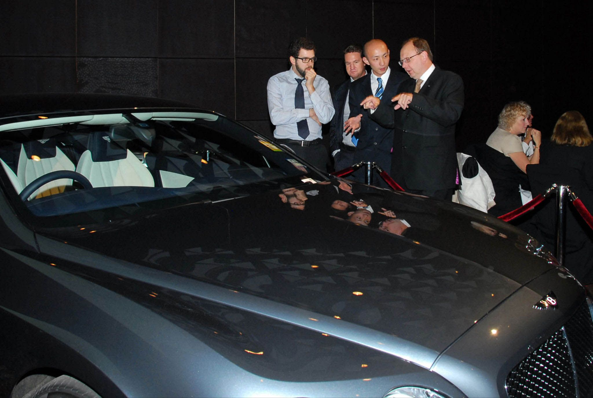 Bentleys were on display around the function room at the 2012 Lawyers Weekly Law Awards