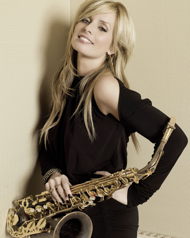Dutch Born Saxophonist Candy Dulfer In 2019 Jazz Music