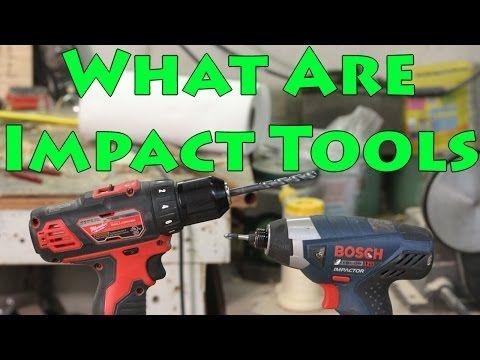 Drill Vs Impact Driver Vs Impact Wrench Vs Hammerdrill Youtube
