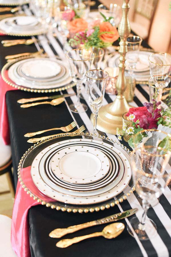 Kate Spade Wedding Inspiration Inspiration Tablescapes And Weddings