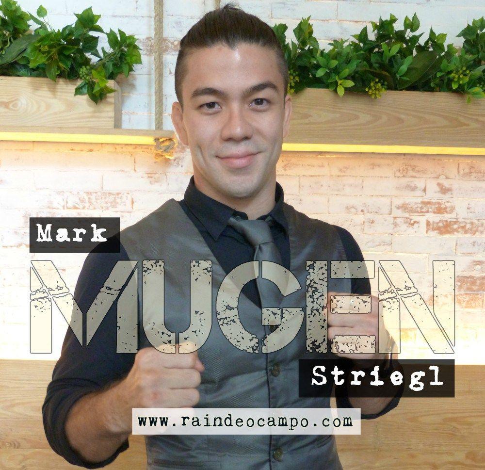 Mark MUGEN Striegl Mma fighters, Mma, His eyes