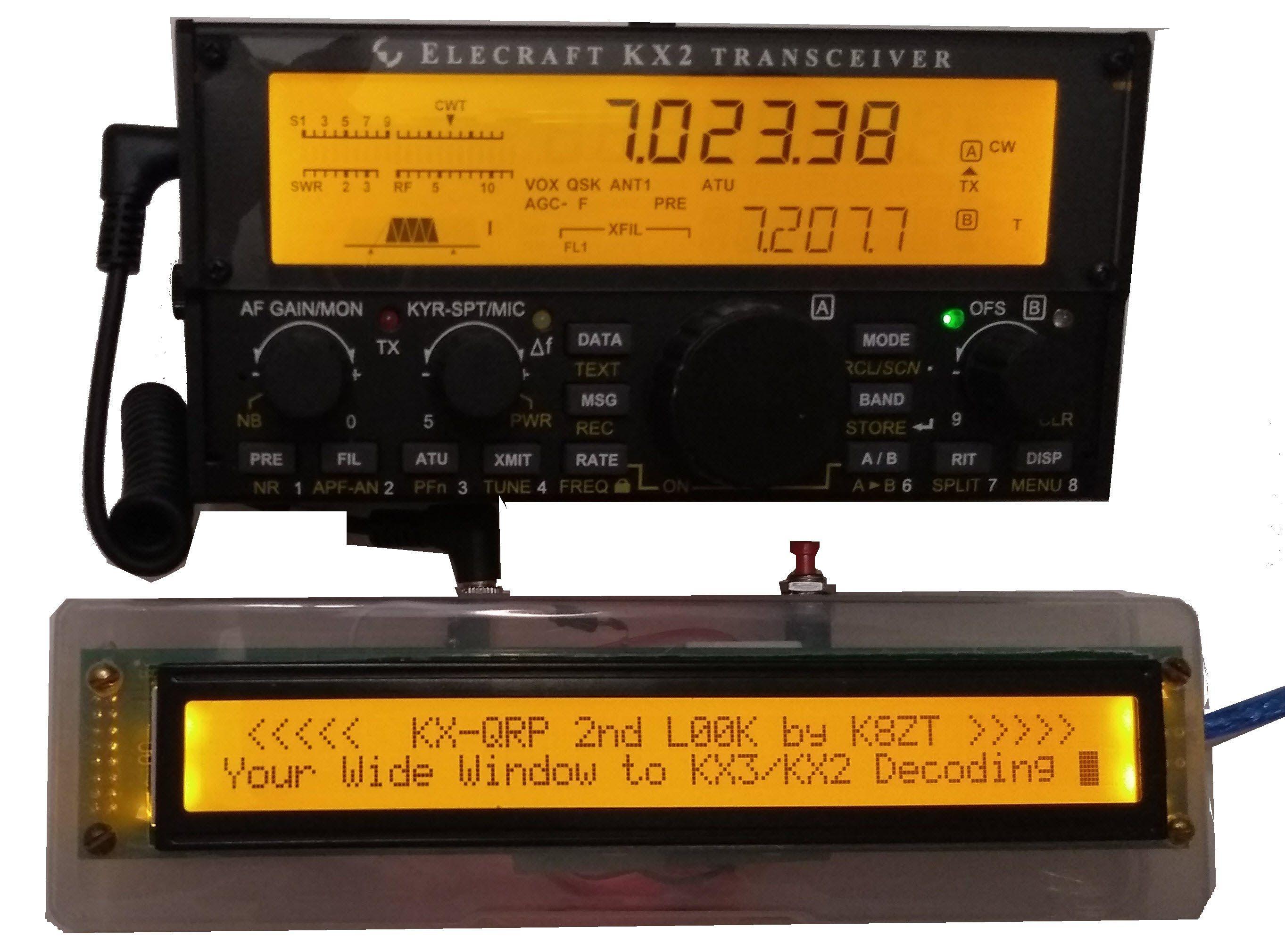 2ndlook - K8ZT Amateur Radio | Elecraft | Ham radio, Office