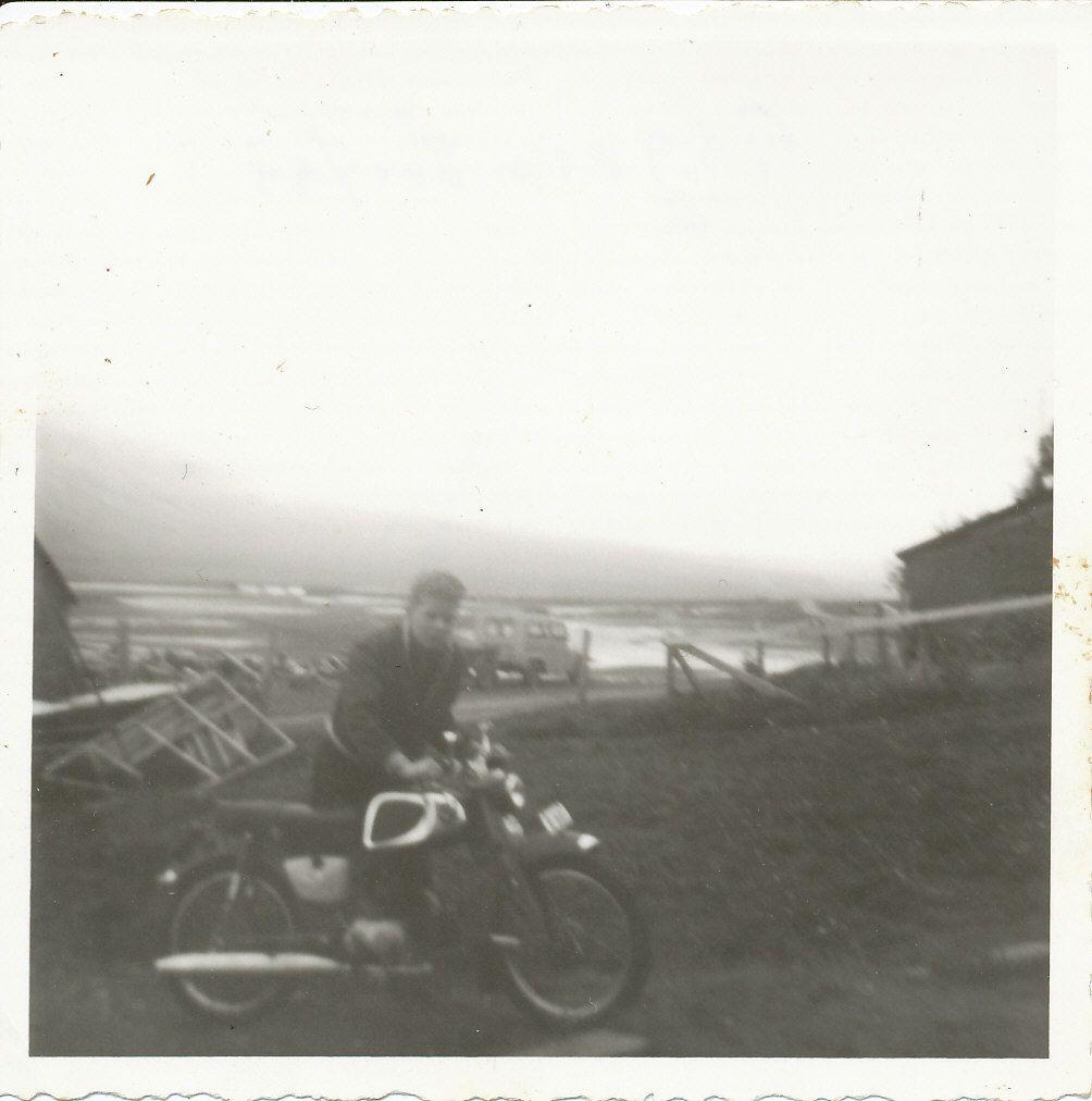 My Honda 50 in Iceland,1963