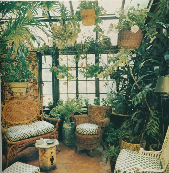 Meubles Rotin Jardin D Hover Recherche Google Inside Garden Room With Plants Green Rooms