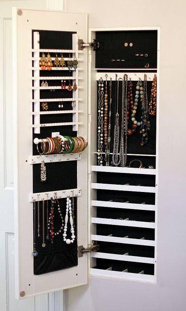 Nana Boshra On Dicor Jewelry Cabinet
