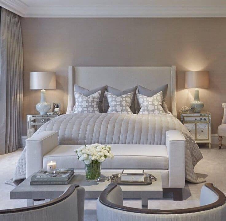 23 Cozy Grey Bedroom Ideas That You Will Adore Luxurious Bedrooms Bedroom Design Master Bedrooms Decor