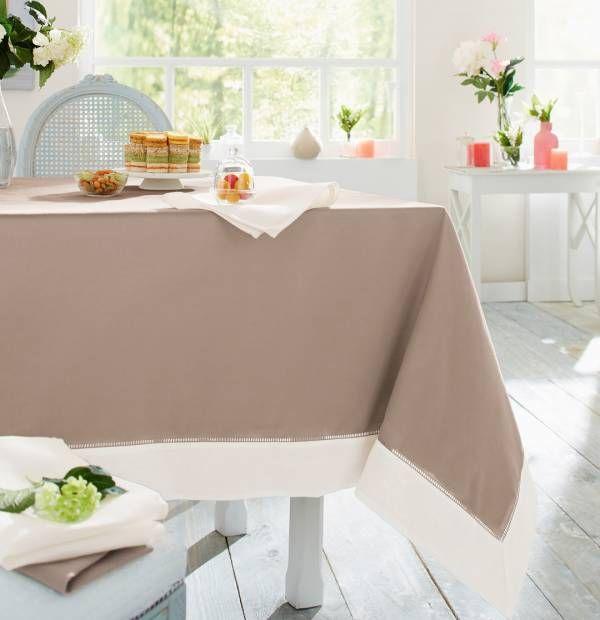 linge de table m lodie c t salon pinterest linge de table ivoire et nappes. Black Bedroom Furniture Sets. Home Design Ideas