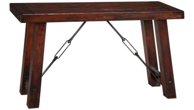 Sofa Table With Metal Braces Sofa Table Furniture Table