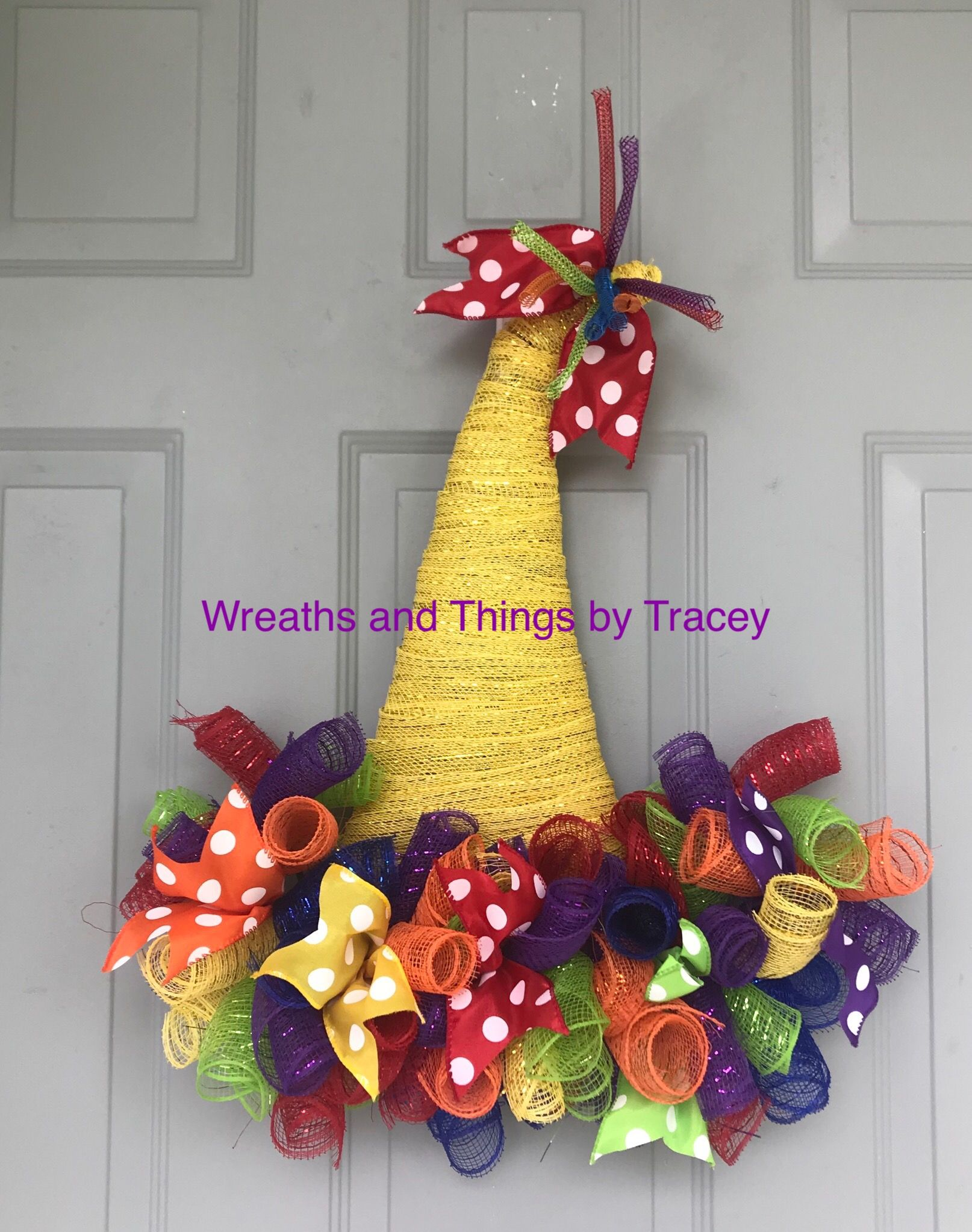 Dt Birthday Hat  2018  Wreaths And Things By