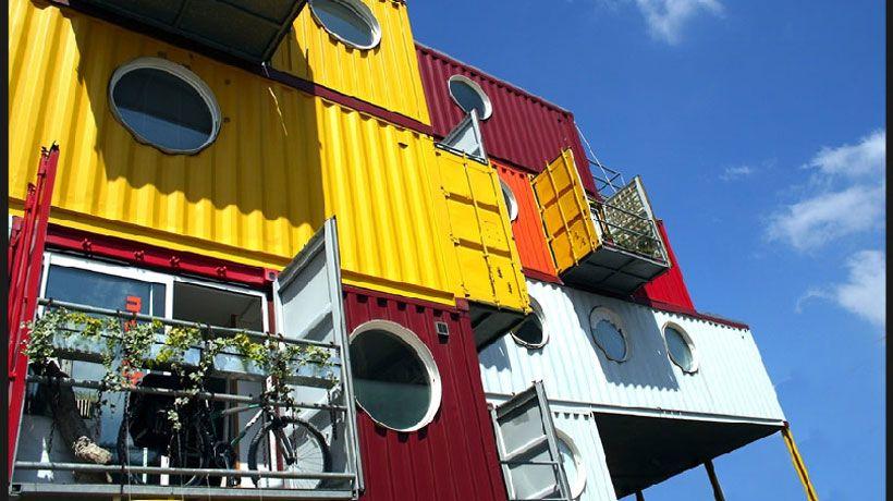 Casa contêiner - BBel :: Tudo sobre decoração e organização da sua casa