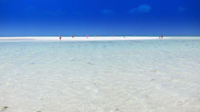 沖縄のマジで綺麗なビーチその2竹富島のコンドイビーチ