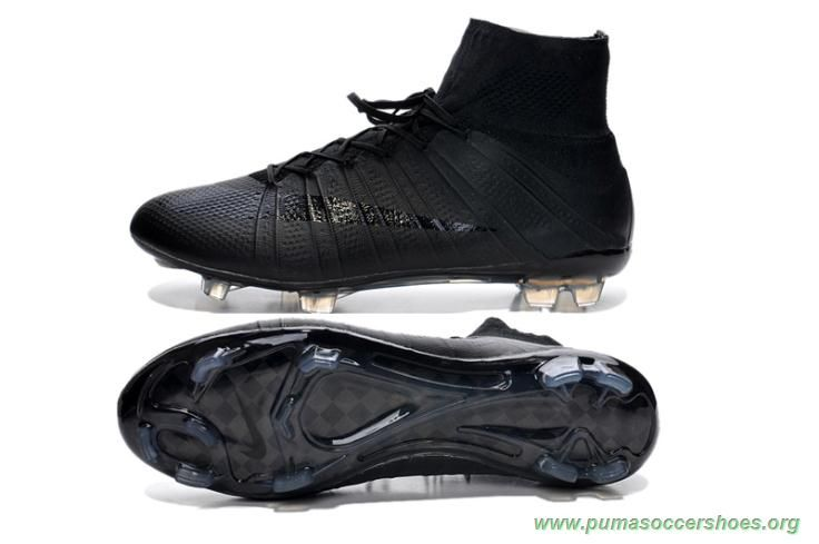 f2da764ed175 Futsal Shoes ACC ALL BLACK Nike Mercurial Superfly X FG Mens | Puma ...