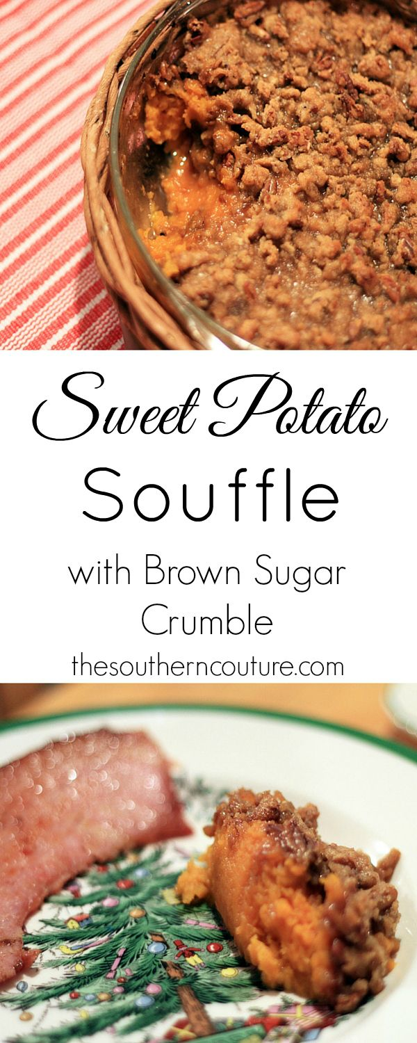 """Host a Trial Run Christmas Dinner with the help of Hormel bone-in ham and this delicious recipe for sweet potato souffle at thesoutherncouture.com. Get your dinner perfect for the big day with a """"practice"""" dinner."""