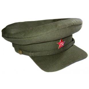 Soviet Russian Rkka Military Khaki Visor Cap Red Army Wwii Hat Soviet Red Army Army Hat Visor Hats