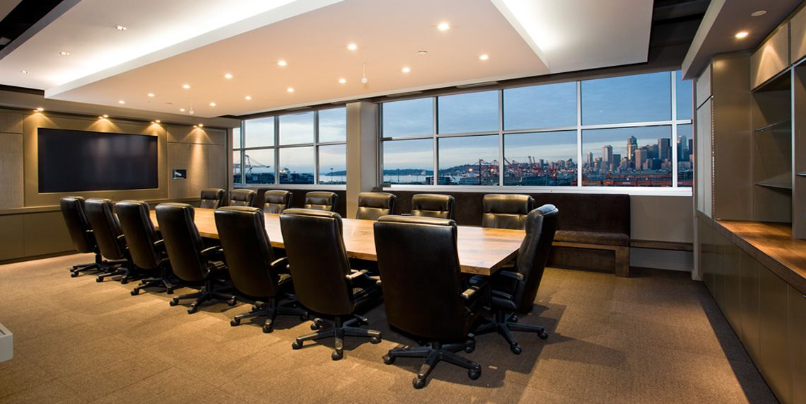 Executive office executive office boardroom braseth for Best executive office design
