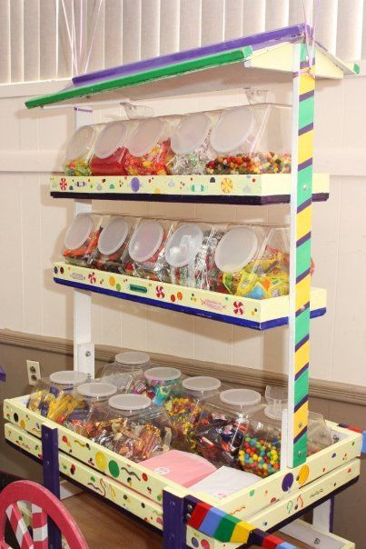 Candy Cart for parties!! http://lalascookiejar.com/